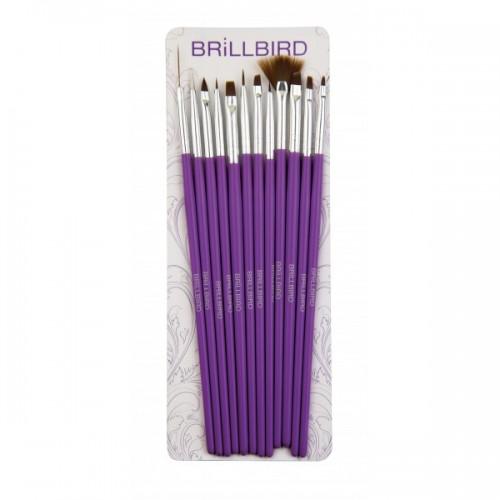 brillbird,brillcosmetix,kistovi,brush,nail art